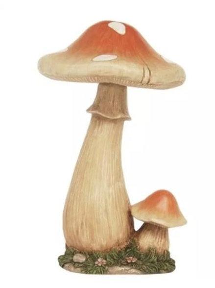 Orange Mushroom Statue Rental