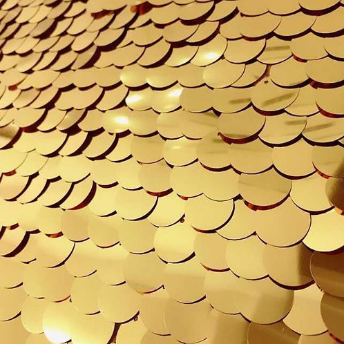 Gold Sequin Backdrop Rental