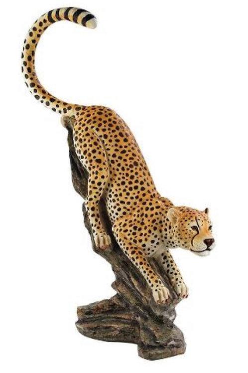 Big Cat Cheetah Statue Rental