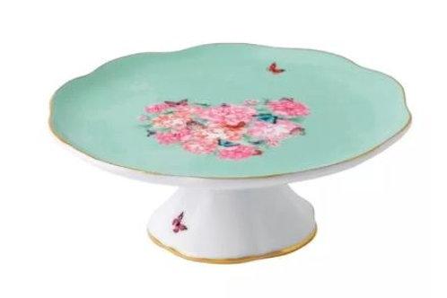 Peonies & Butterflies Cake Stand Rental