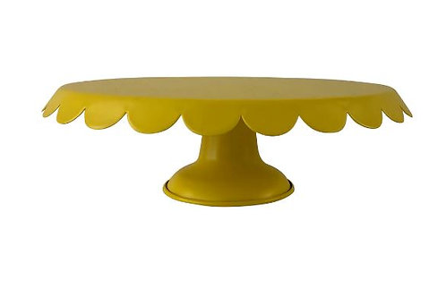 Yellow Metal Cake Stand Rental