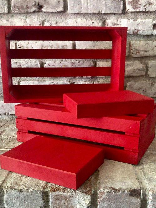 Red Crate Set Rental