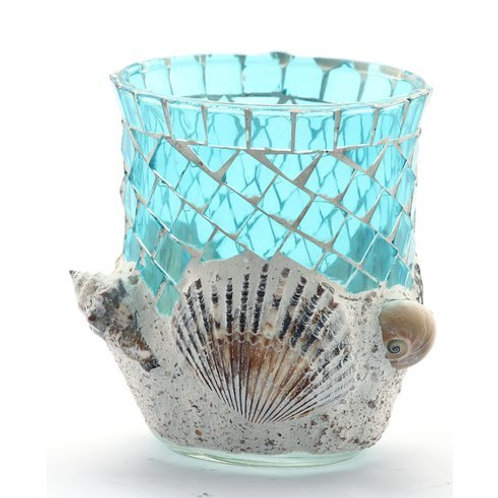 Mermaid Glass Cup Utensil Holder Rental