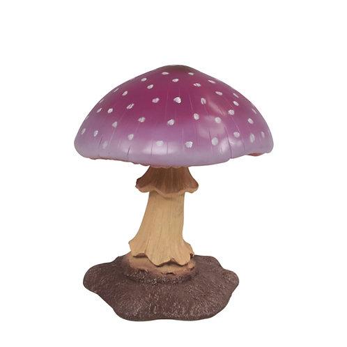 Oversized Purple Mushroom Statue Rental