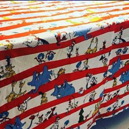 Dr. Seuss Tablecloth Rental