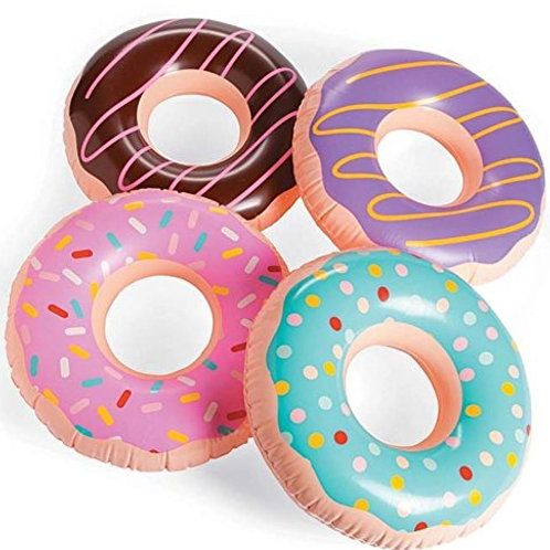 Frosted Donut Shaped Inflatables - Rental