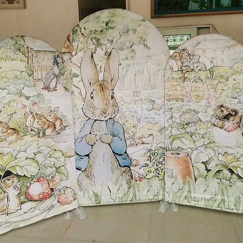 Peter Rabbit Backdrop Rental