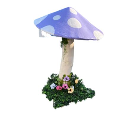 Large Lavender Mushroom Rental