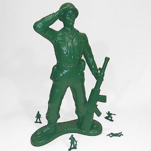 Giant Army Man Rental