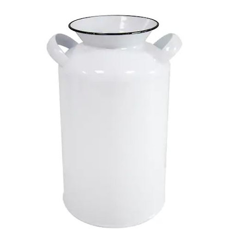 Set of Two Large Enamel Milk Jug Rental