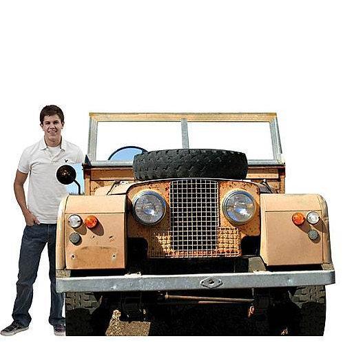 Safari-Jungle Jeep Prop Rental
