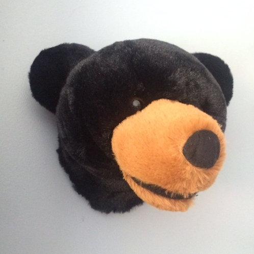 Small Black Bear Head Rental