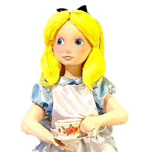 5ft Tall Alice in Wonderland Prop Rental