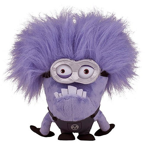 Two-Eye Purple Minion Plush Rental