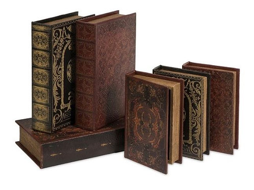 Six Piece Book Box Collection Rental