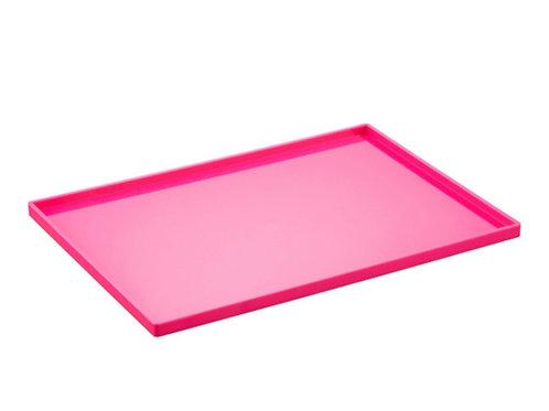 Hot Pink Large Slim Tray Rental