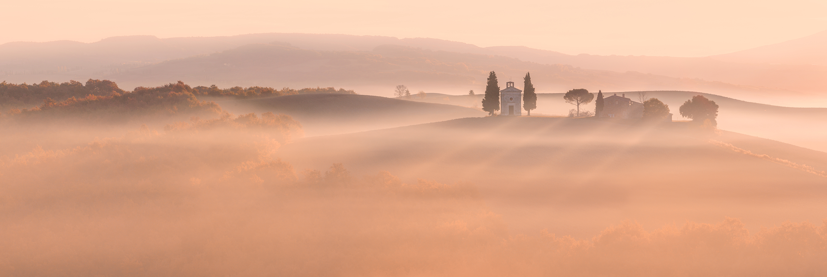 The Golden light of Tuscany