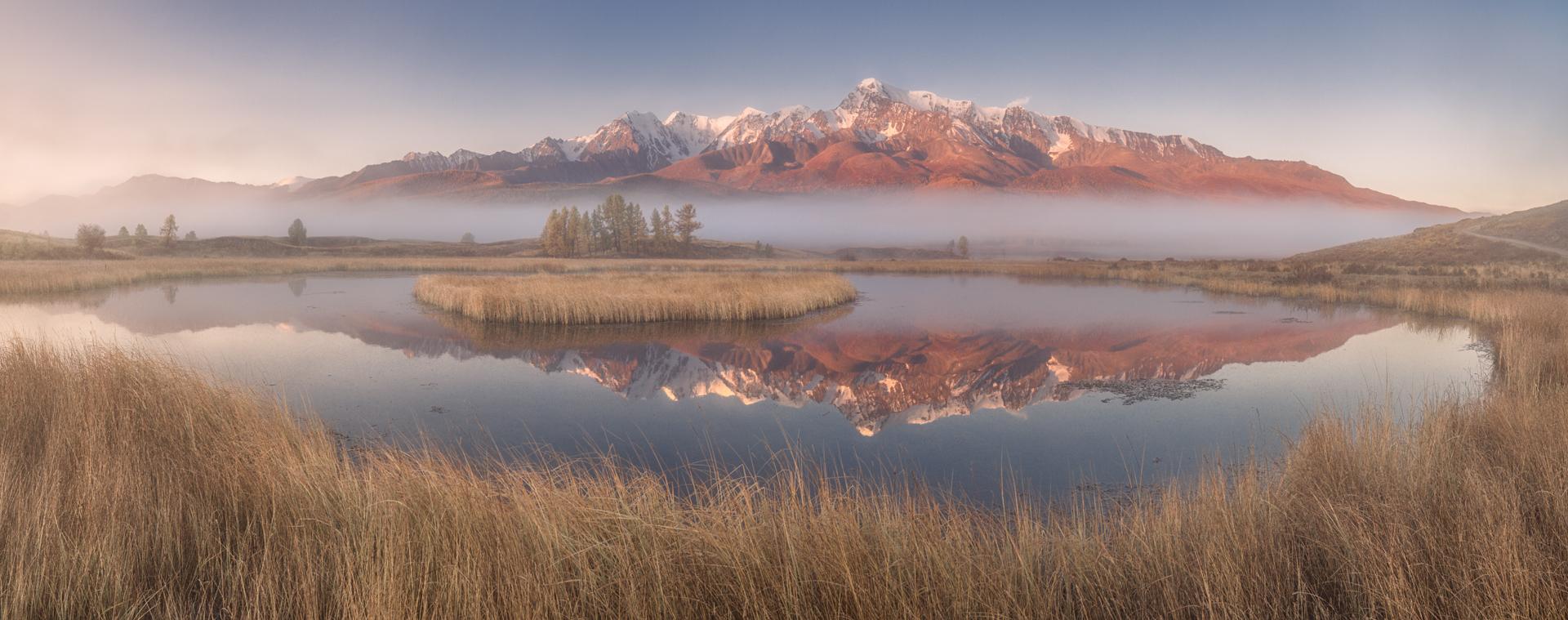 пейзаж_одним туманным утром