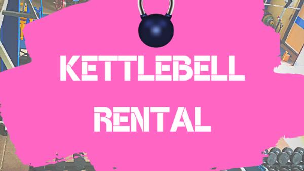 Kettlebell Rental