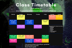 Class Timetable July 2021