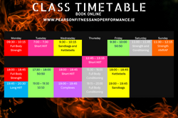Oct 2021 Timetable