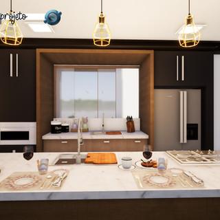 Cozinha Casa VF