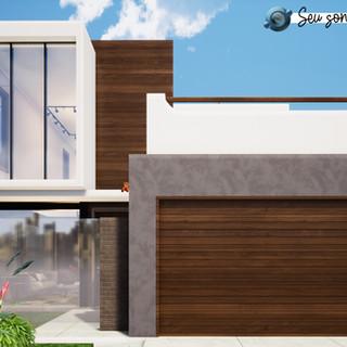 Fachada Casa VF