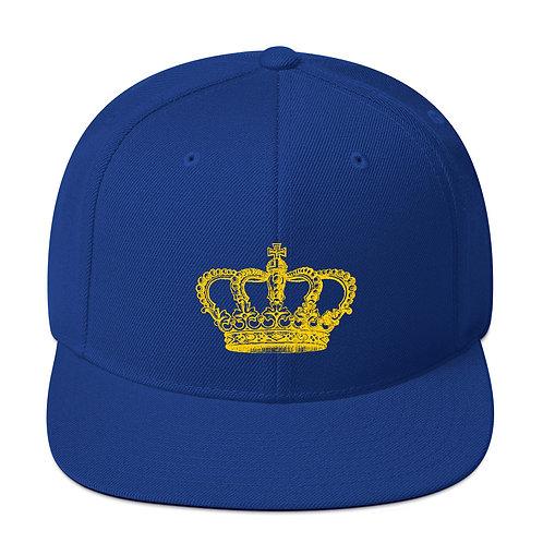 Crown Snapback Hat