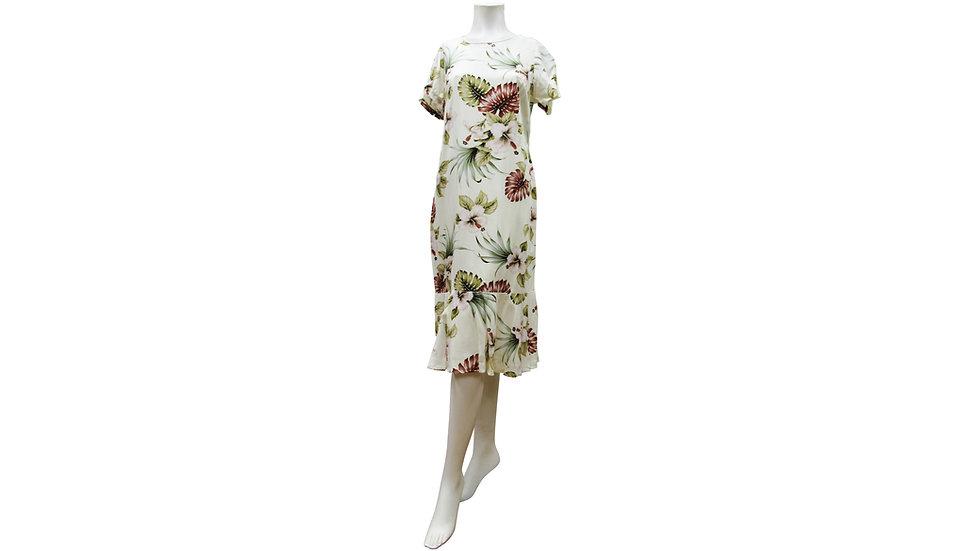 [#21504] Rayon 100% Amber Dress [RH05]