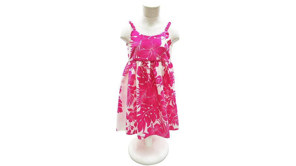 [#42202] Girl's Strap Dress - T/C [T07]
