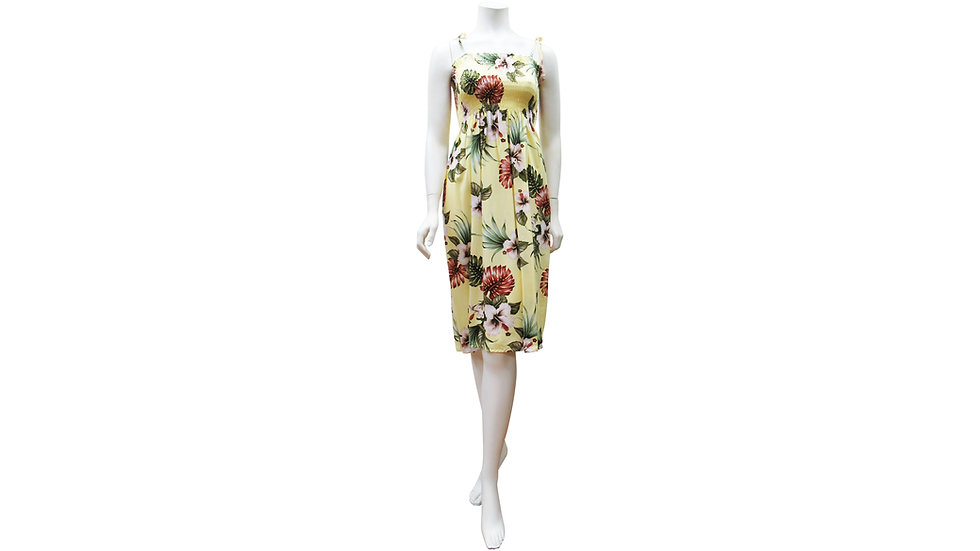 Rayon 100% Short Tube Dress [ET03-#60904]