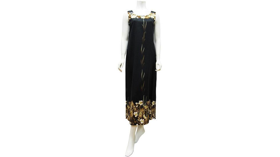 [#52404] Rayon 100% Long Column Dress [RH07]