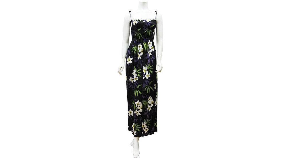 [#61204] Rayon 100% Long Tube Dress [RH01]