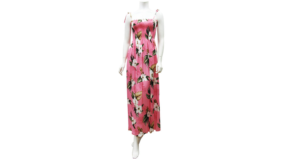 [#61204] Rayon 100% Long Tube Dress [RH03]