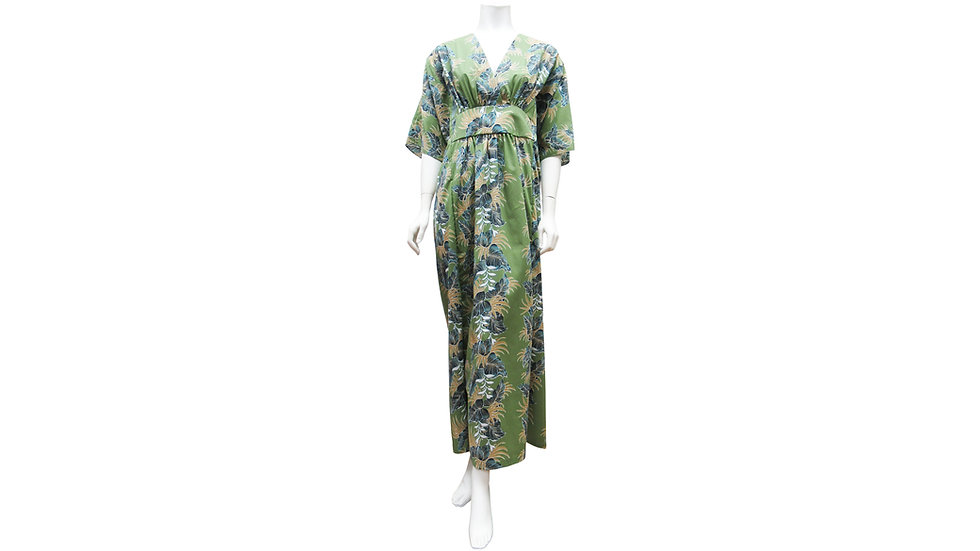 [#22302]Japanese Caftan - Poly/Cotton [T04]
