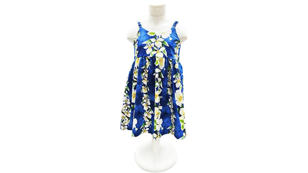 Cotton 100% Girl's Strap Dress [#42206]