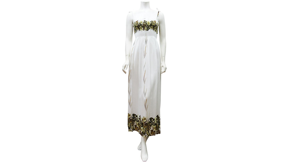 [#61204]Rayon 100% Long Tube Dress [RH07]