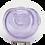 Thumbnail: Purple with White Ribbon Glass Bowl