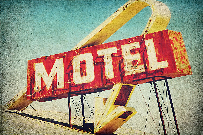 Lancaster Motel Sign