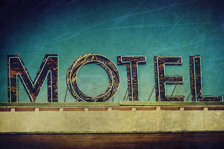 Large Motel Sign