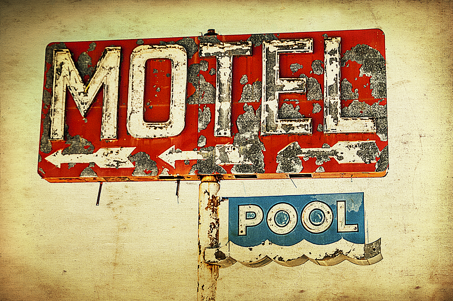 Motel and Pool Sign