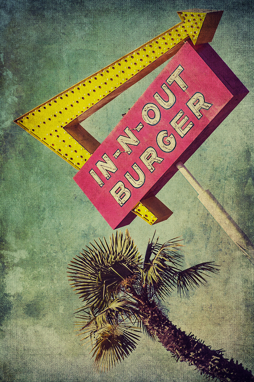 In-N-Out Burger Sign