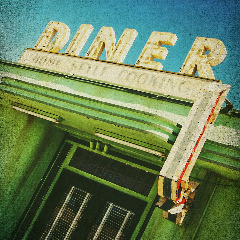 Green Diner Sign