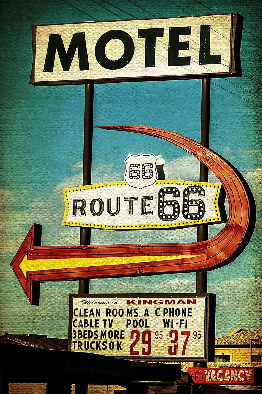 Route 66 Arrow Sign