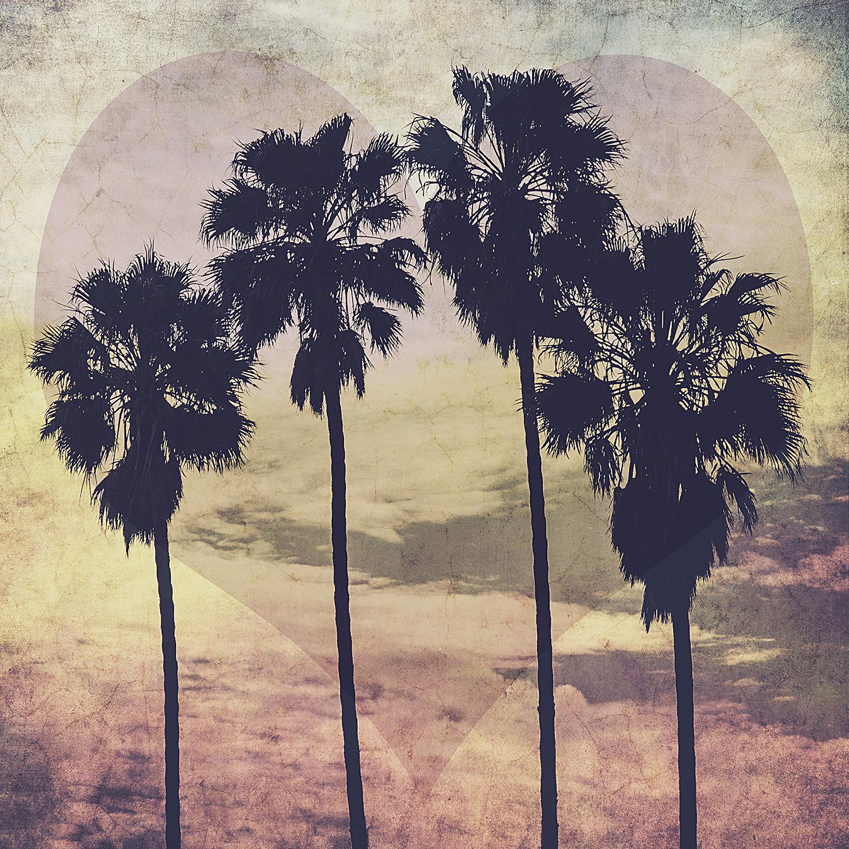 Four Palms Part Deux Purple