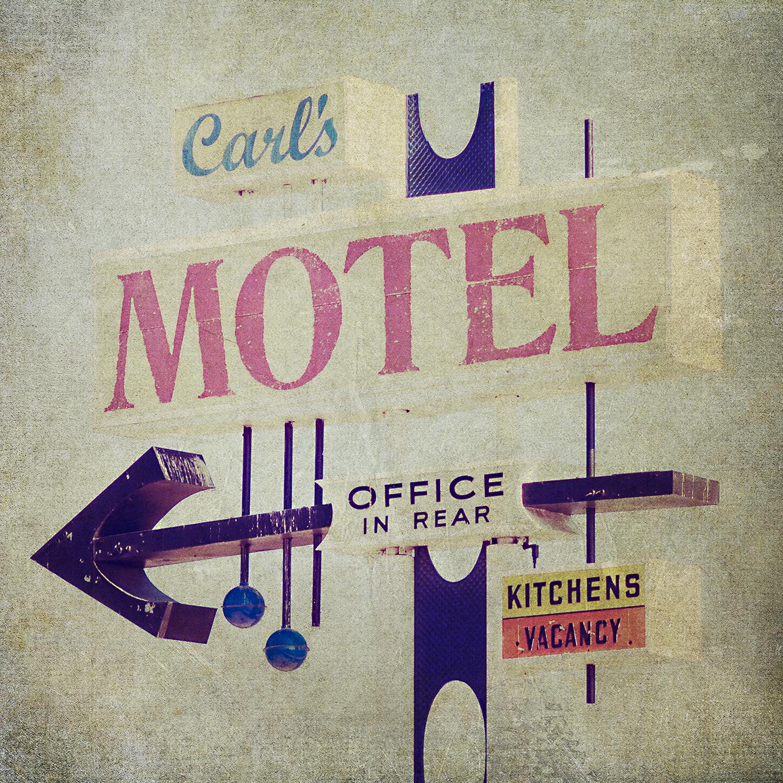 Carl's Motel Sign