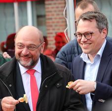 Cuxhaven mit Martin Schulz