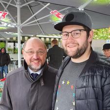 Besuch von Martin Schulz