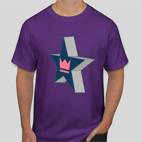 Star and Crown T-Shirt | Youth and Adult Unisex