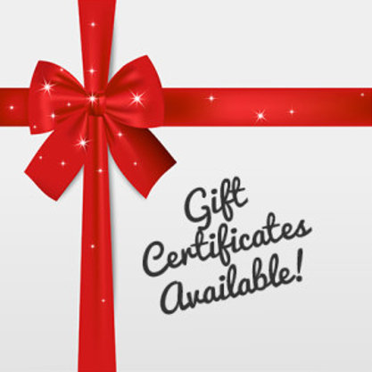 Gift Certificate - Any Amount ($10-$50)